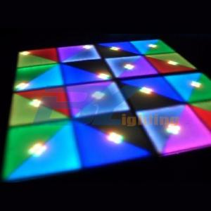 BY-D720A Led Dance Floor With Ray