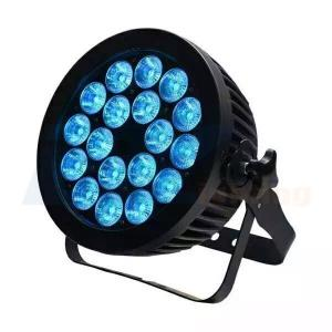 BY-4118P IP65 18X10W RGBW 4in1 LED outdoor flat PAR
