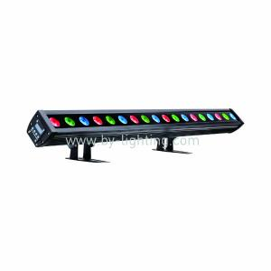 BY-3318  IP65 OUTDOOR LED Pixel Bar(18x3W RGB 3in1 LED)